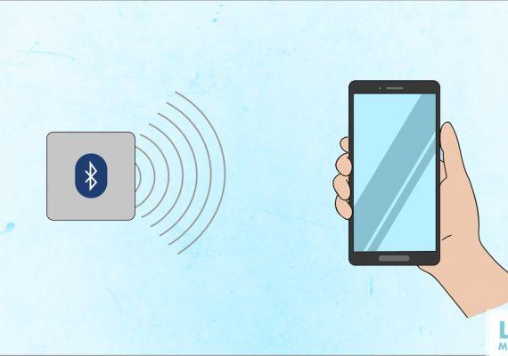 Navigation mit dem Smartphone und Beacons in ihrer Umgebung